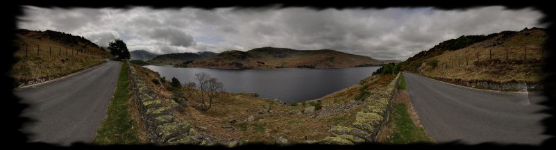 360°-Panorama Lake District